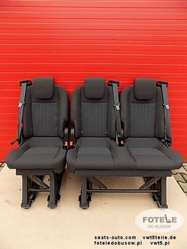 Seat Ford Transit Custom bench rear seats double single LHD Lane