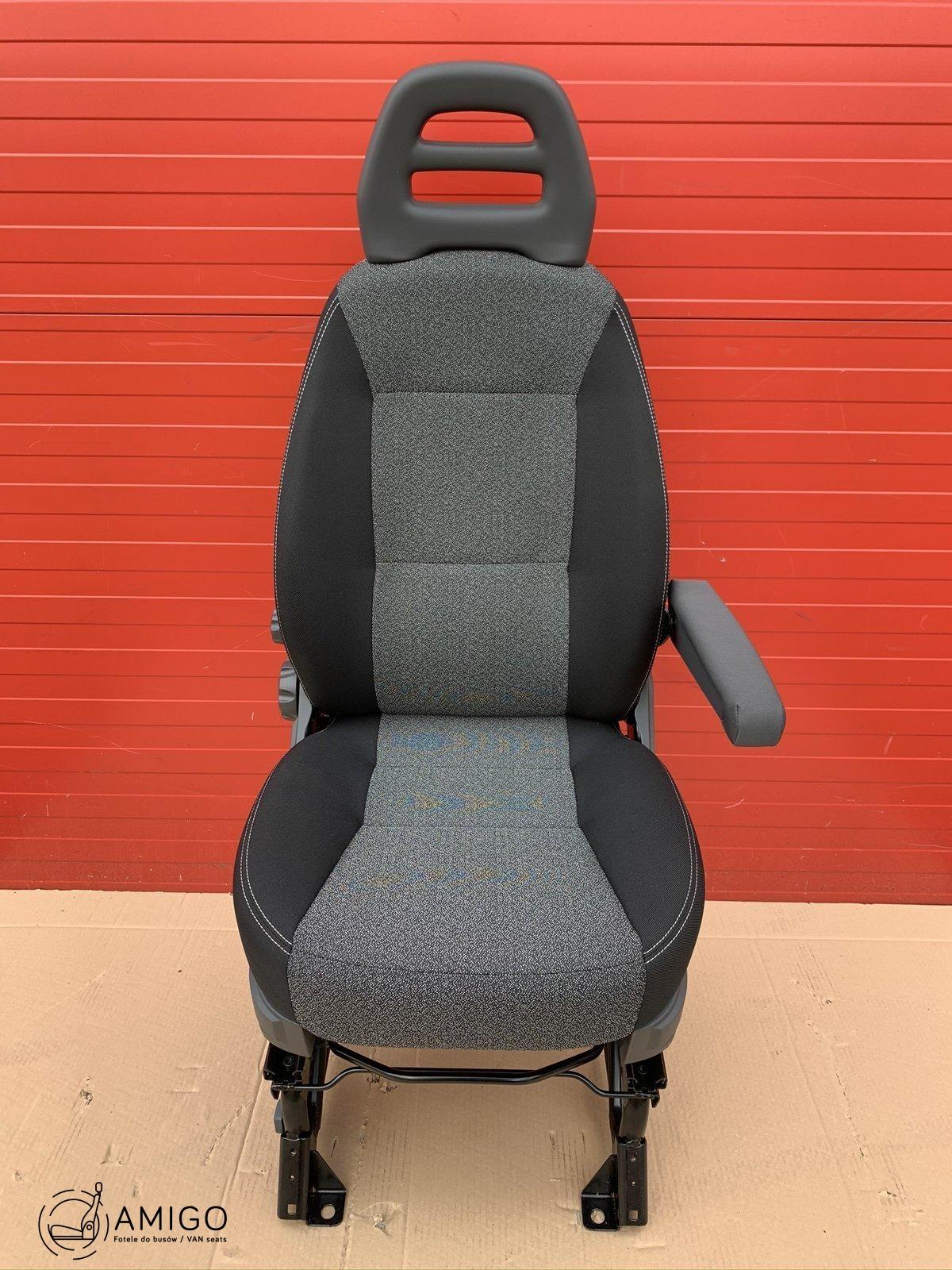 peugeot boxer front single passenger seat